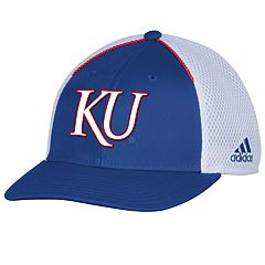 Adult adidas Kansas Jayhawks Spring Game Adjustable Cap