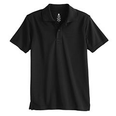 Boys 4-20 Chaps School Uniform Solid Performance Polo