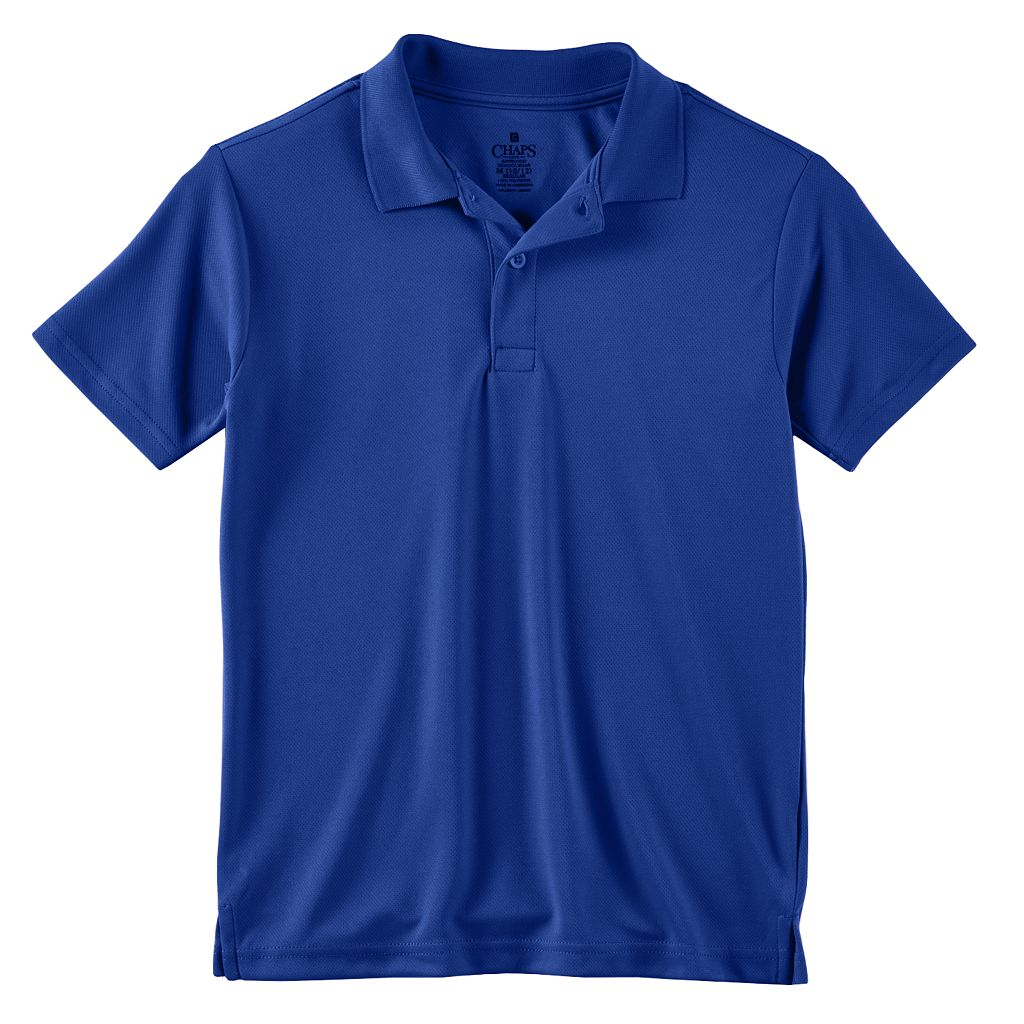 Boys 8-20 Husky Chaps School Uniform Performance Polo