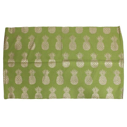 Thro by Marlo Lorenz Perry Pineapple Foil Rug - 2'3'' x 3'9''