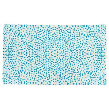 Thro by Marlo Lorenz Lindi Floral Dot Foil Rug - 2'3'' x 3'9''