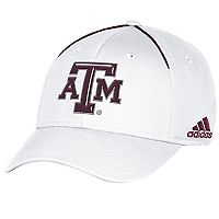 Adult adidas Texas A&M Aggies Coach Flex-Fit Cap