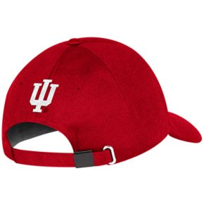 Adult adidas Indiana Hoosiers Structured Adjustable Cap