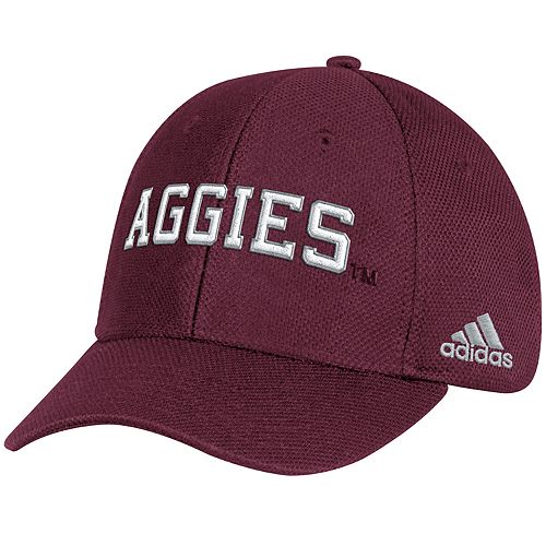 Adult adidas Texas A&M Aggies Structured Adjustable Cap