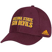 Adult adidas Arizona State Sun Devils Structured Adjustable Cap