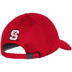 Adult adidas North Carolina State Wolfpack Structured Adjustable Cap