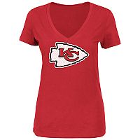 Plus Size Majestic Kansas City Chiefs Logo Tee