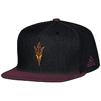 Adult adidas Arizona State Sun Devils Player Snapback Cap