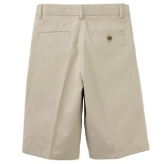 Boys 8-20 Chaps School Uniform Pleated-Front Twill Shorts