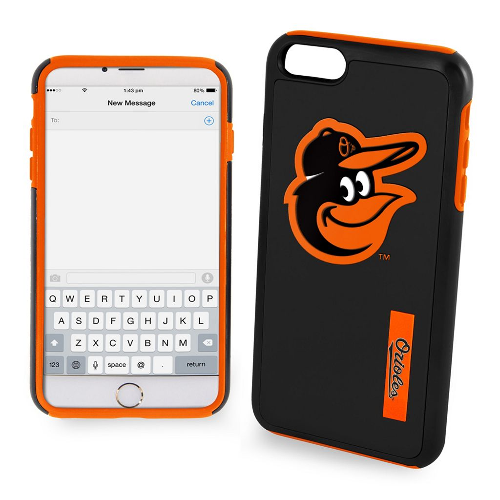 Forever Collectibles Baltimore Orioles Impact Dual Hybrid iPhone 7 Case