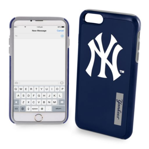 Forever Collectibles New York Yankees Impact Dual Hybrid iPhone 7 Case
