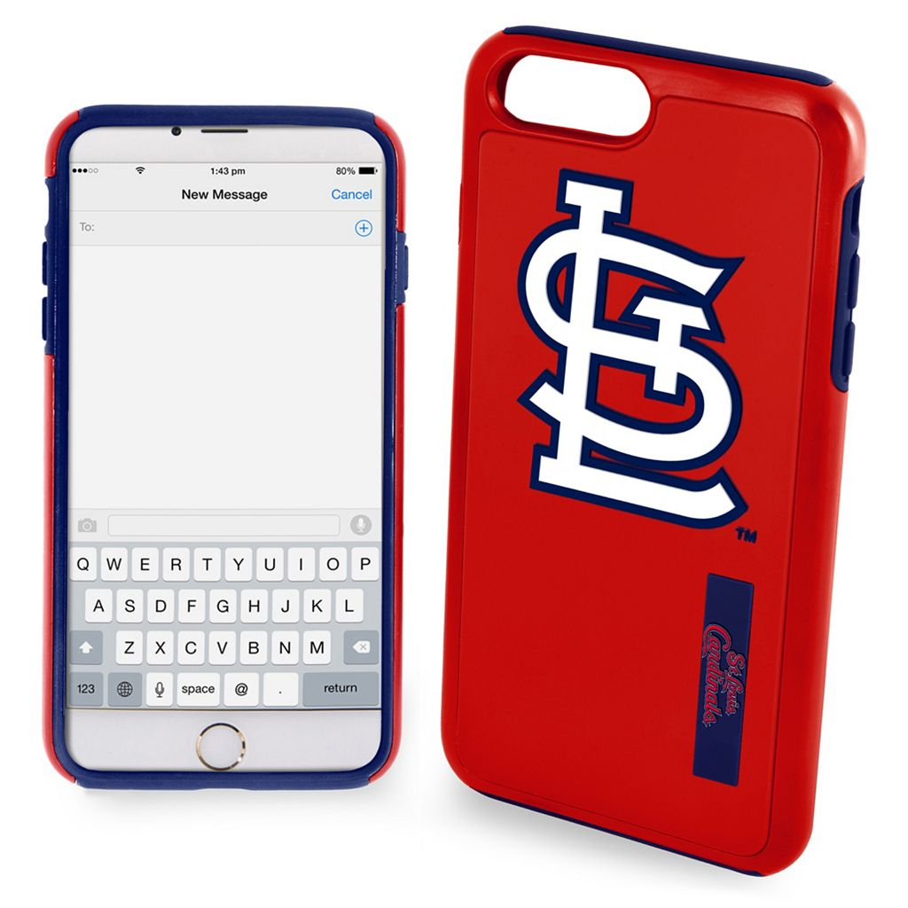 Forever Collectibles St. Louis Cardinals Impact Dual Hybrid iPhone 7 Case