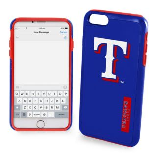Forever Collectibles Texas Rangers Impact Dual Hybrid iPhone 7 Case