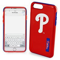 Forever Collectibles Philadelphia Phillies Impact Dual Hybrid iPhone 7 Plus Case