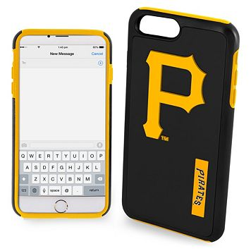 Forever Collectibles Pittsburgh Pirates Impact Dual Hybrid iPhone 7 Plus Case