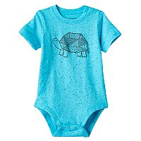 Baby Boy Jumping Beans® Patchwork Turtle Bodysuit