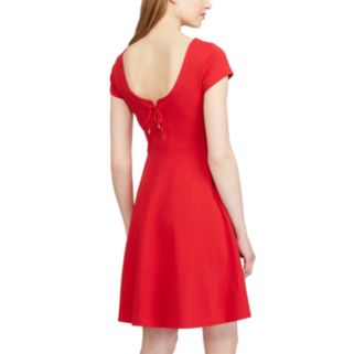 Women's Chaps Ponte Fit & Flare Dress