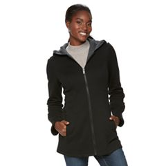 Women's Sebby Collection Long Fleece Jacket