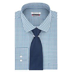 Big & Tall Van Heusen Flex Collar Dress Shirt & Tie