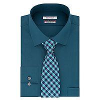 Big & Tall Van Heusen Flex Collar Dress Shirt & Tie