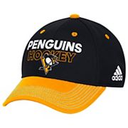 Adult adidas Pittsburgh Penguins Locker Room Flex-Fit Cap