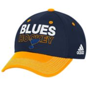 Adult adidas St. Louis Blues Locker Room Flex-Fit Cap