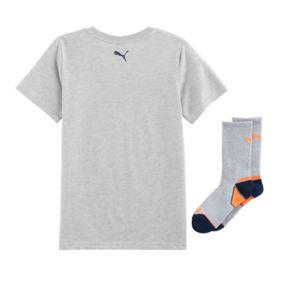 Boys 8-20 PUMA Circle Tee & Socks