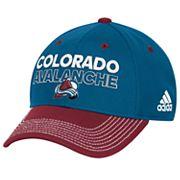 Adult adidas Colorado Avalanche Locker Room Flex-Fit Cap