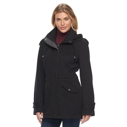 Women's Sebby Collection Fleece Anorak