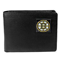 Men's Boston Bruins Bifold Wallet