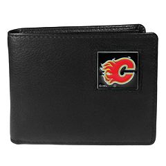 Men's Calgary Flames Bifold Wallet