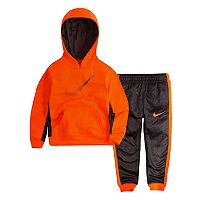 Toddler Boy Nike Therma-FIT Pullover Logo Hoodie & Pants Set