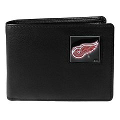 Men's Detroit Red Wings Bifold Wallet