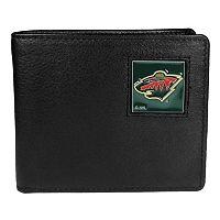 Men's Minnesota Wild Bifold Wallet