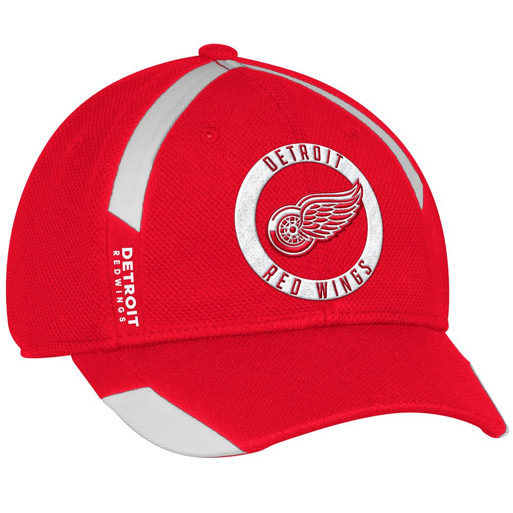 newest collection 6ec58 e75b6 Adult adidas Detroit Red Wings Practice Jersey Flex-Fit Cap
