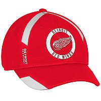 Adult adidas Detroit Red Wings Practice Jersey Flex-Fit Cap