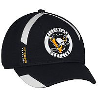 Adult adidas Pittsburgh Penguins Practice Jersey Flex-Fit Cap