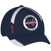 Adult adidas Washington Capitals Practice Jersey Flex-Fit Cap