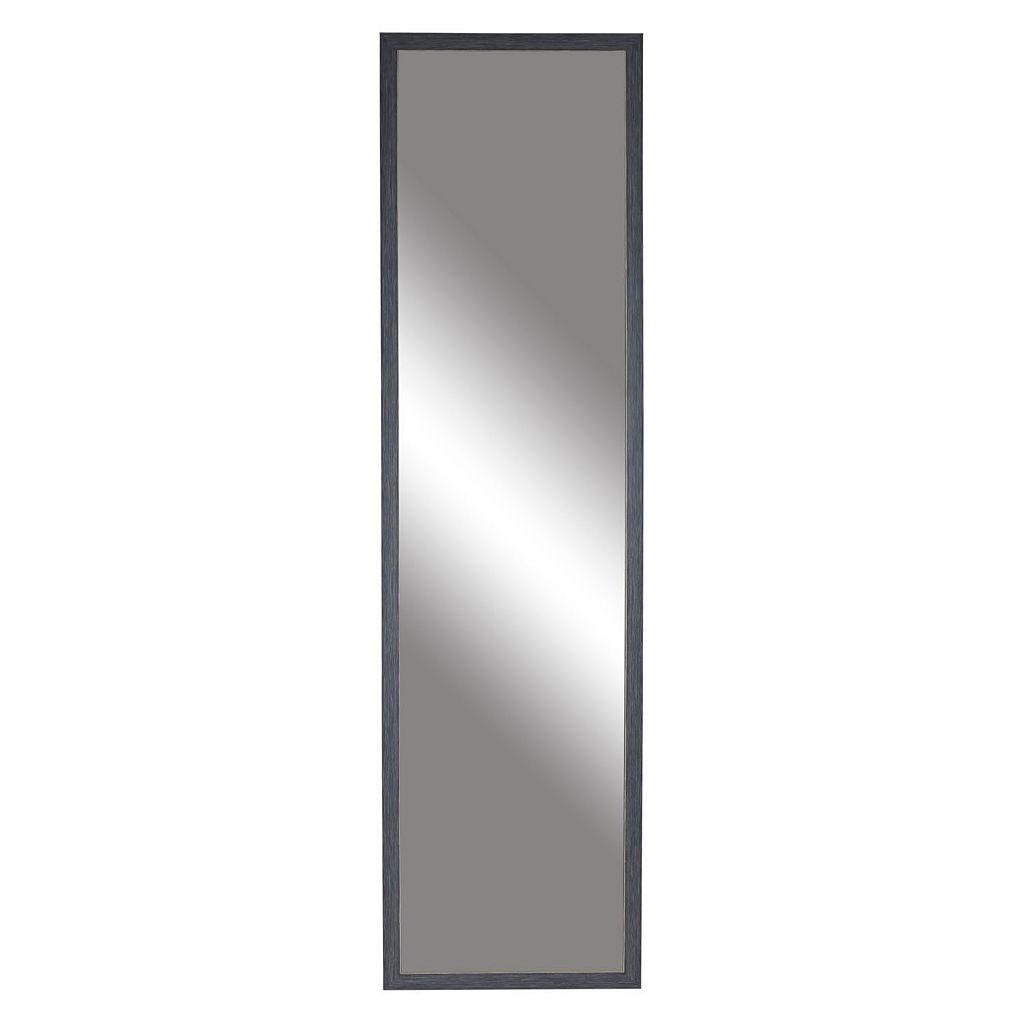 Belle Maison Distressed Over-The-Door Mirror