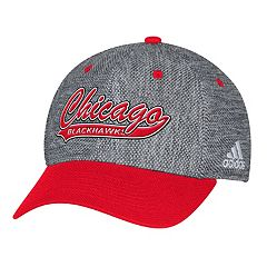 Adult adidas Chicago Blackhawks Structured Flex-Fit Cap