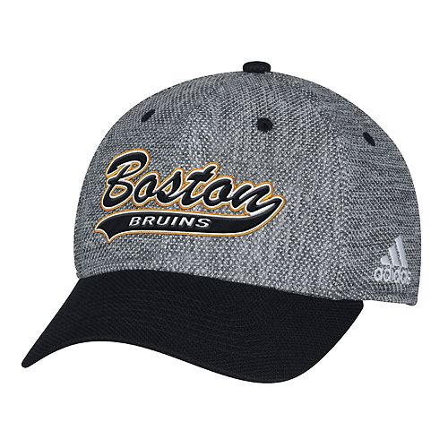 Adult adidas Boston Bruins Structured Flex-Fit Cap