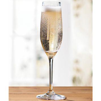 Wine Enthusiast Break-Resistant Champagne Flute Set