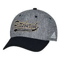 Adult adidas Pittsburgh Penguins Structured Flex-Fit Cap
