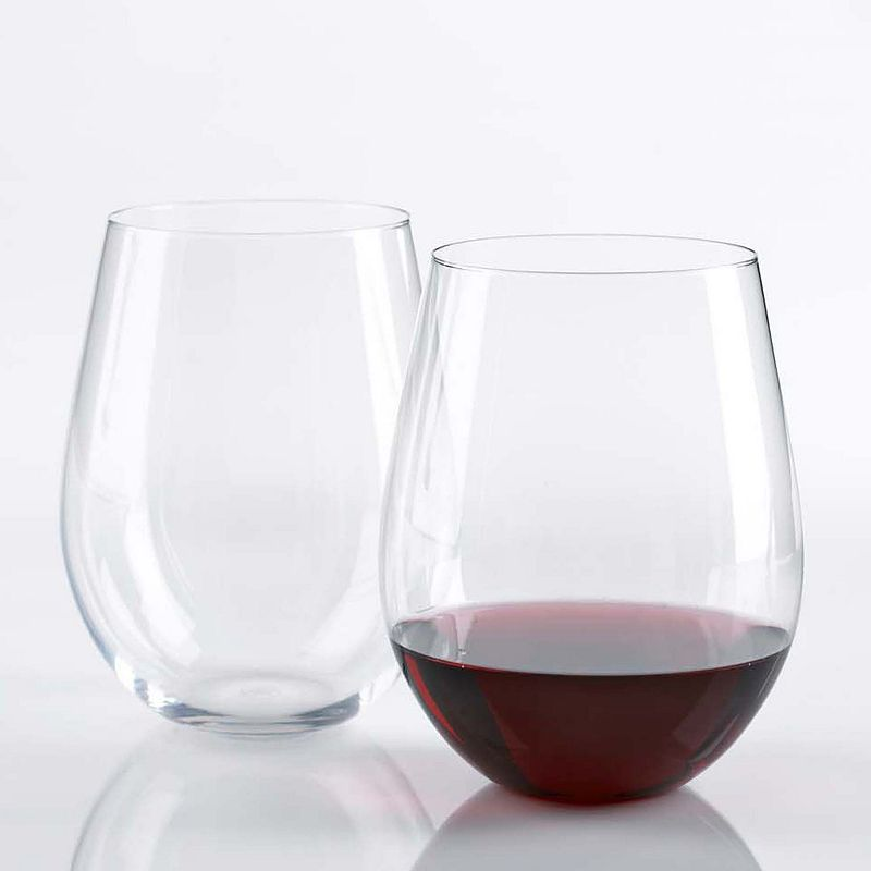 Wine Enthusiast 2-pc. Stemless Red Wine Glass Set