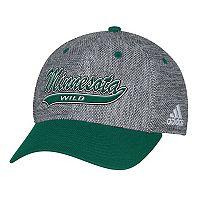 Adult adidas Minnesota Wild Structured Flex-Fit Cap