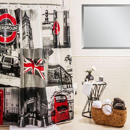 Splash Home London Shower Curtain