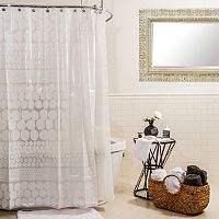 Splash Home Chunk Shower Curtain