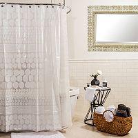 Splash Home Chunk Shower Curtain