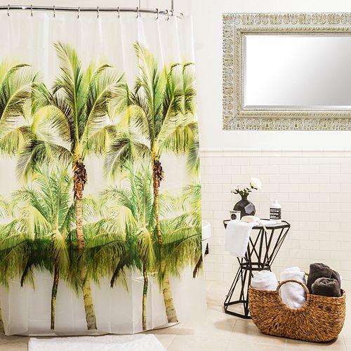 Splash Home Palm Tree Shower Curtain