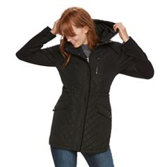 Women's Sebby Collection Quilted Anorak